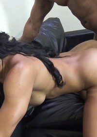 Tall, muscular beauty Sophia Fiore wants cock bad!