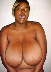 Black women with big tits are very sexy and beautiful