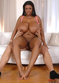 Black babe Maserati peeling out feet first on a hard dick!