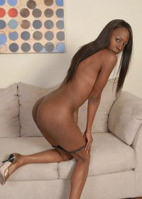 Ebony Glory Hot black hardcore action