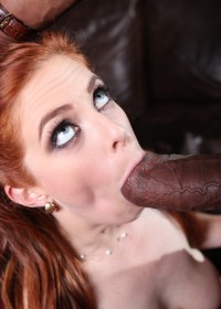 After a nice shower to moisten up her hot pussy, unsuspecting Penny has a surprise visit from Shane. As her mouth was open from shock Shane fed his cock into her craving mouth and quickly went from choking on the meat to being stuffed tight in her pussy f
