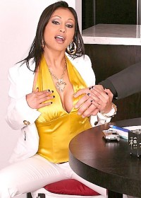 poor billy. hes in trouble again, once again billy has to go to the bosses home office to deal with his latest problem. thank god boss lady priya has some major funbags, and after she finds out that billy is screwing up is because he needs to relax, if yo