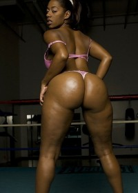 Black Huge Bum, large black asses