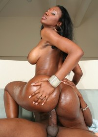 What can be better than sex with a hot black woman? Feasibility fantasy - fuck chocolate!